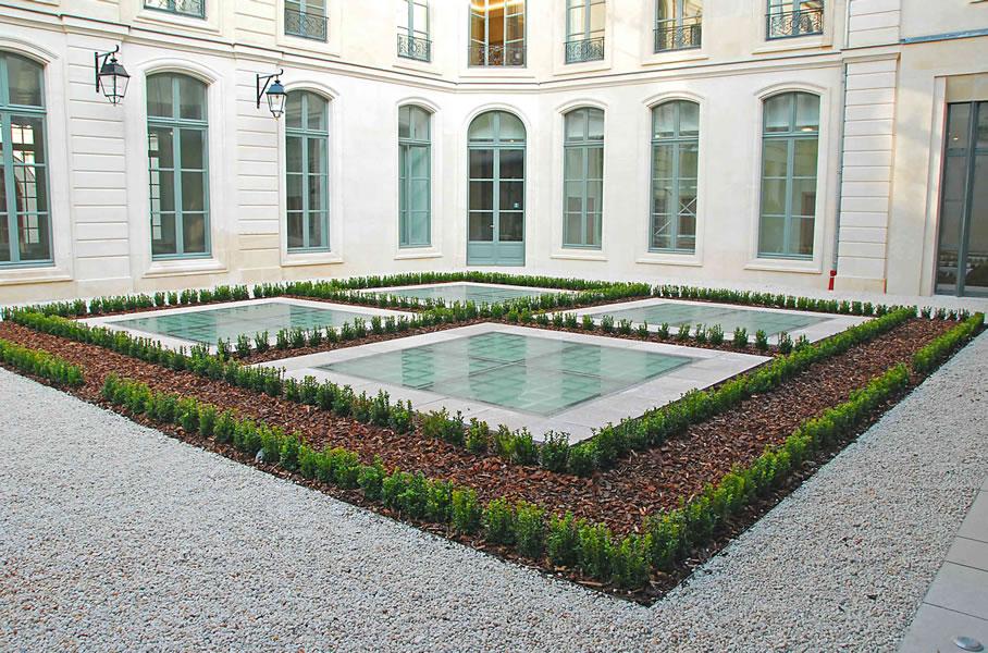 Aménagement des cours et patios