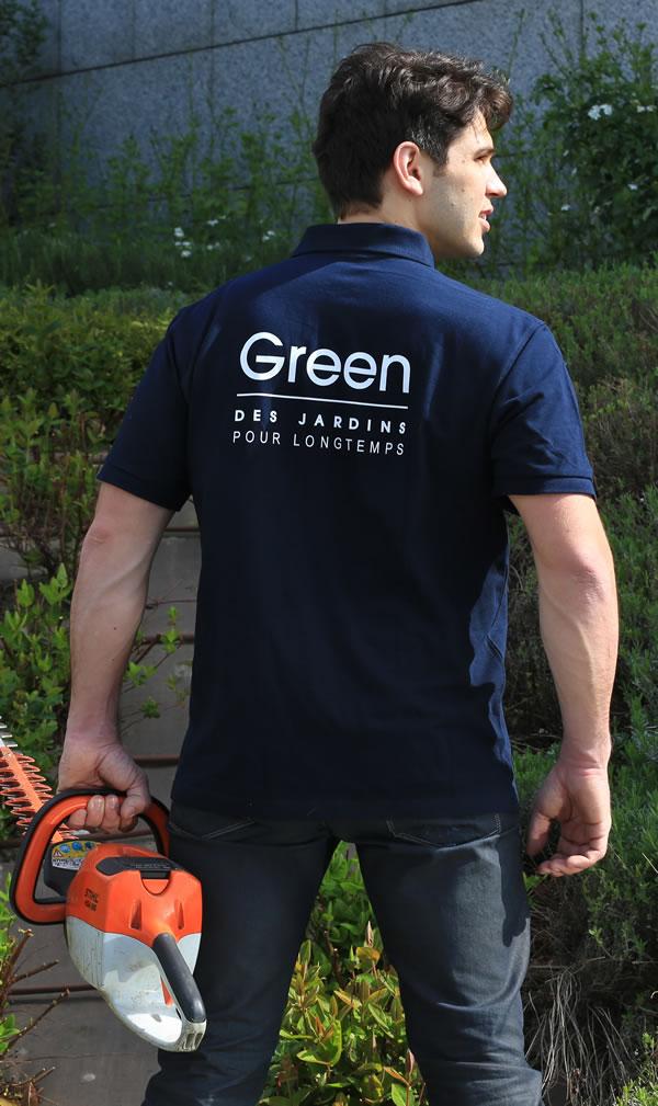 Green cr ation et entretien d espaces verts paris et idf for Jardiniers paysagistes